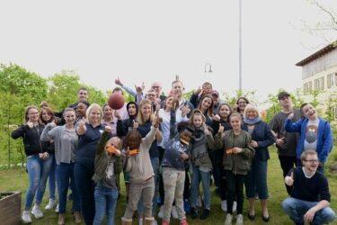 Terrassendinner für 25 Kinder und Jugendliche im Stadtteil Gereuth