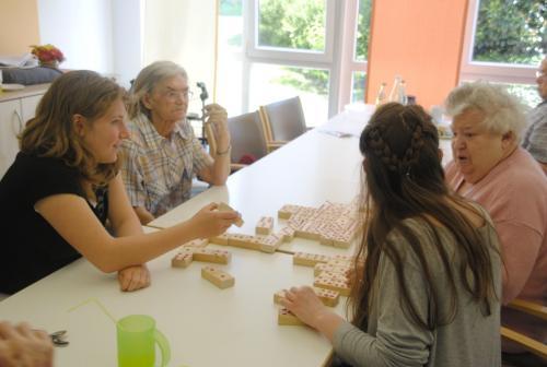 Kooperationsprojekt um Demenz mit der Mittelschule Memmelsdorf und VDK Lichtenei