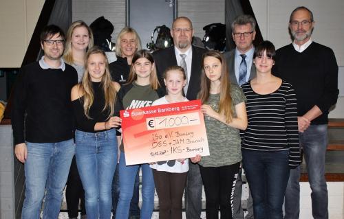 IKS spendet für Offene Ganztagsschule und Jugendarbeit in Baunach