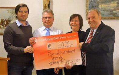 500 Euro für die Naturpädagogik im Wiesenhort