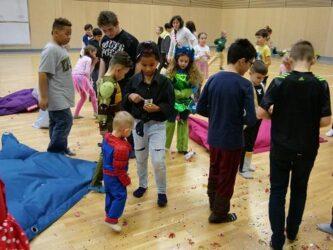 Kinderfasching in der BasKIDhall