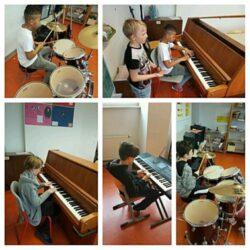 Musikgruppe im Sperbertreff