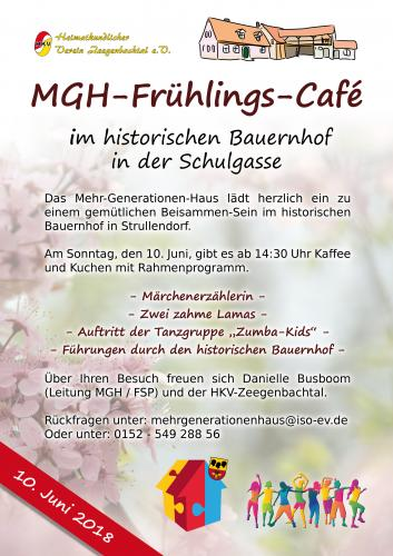 MGH-Frühlings-Café