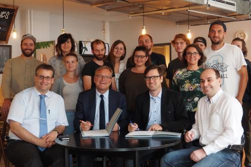 Stadt Bamberg und iSo gehen weiterhin gemeinsame Wege