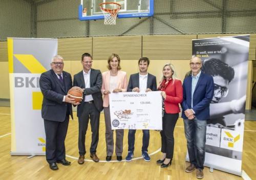 BasKIDball erhält 120.000 Euro vom BKK Landesverband Bayern