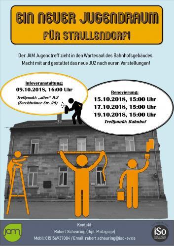 Ein neuer Jugendraum in Strullendorf