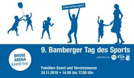 Einladung zum Tag des Sports am 24.11.2018
