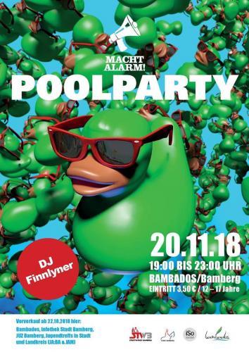 Macht Alarm!-Poolparty im Bambados