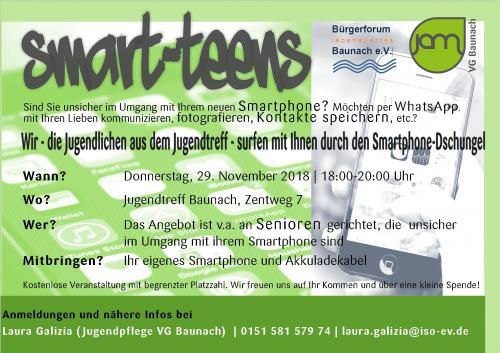 SmartTeens – Wir surfen mit Ihnen durch den Smartphonejungel