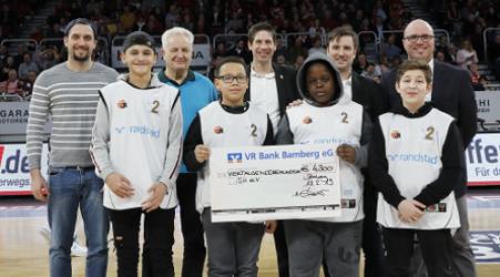 Spendenaktion zugunsten von BasKIDball