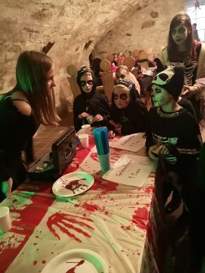 Erste Halloween-Party in Viereth-Trunstadt
