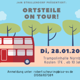 Strullendorfer Ortsteile on Tour