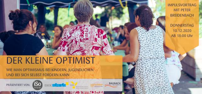 """Veranstaltungshinweis: """"Der kleine Optimist"""""""