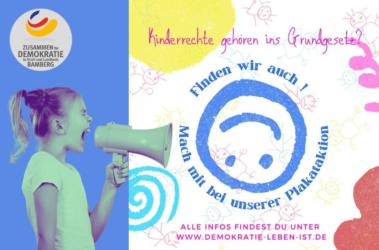 Plakataktion – Kinderrechte gehören ins Grundgesetz!